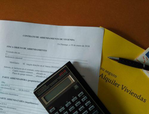 Fianza legal y otras garantías en un alquiler de vivienda (I)